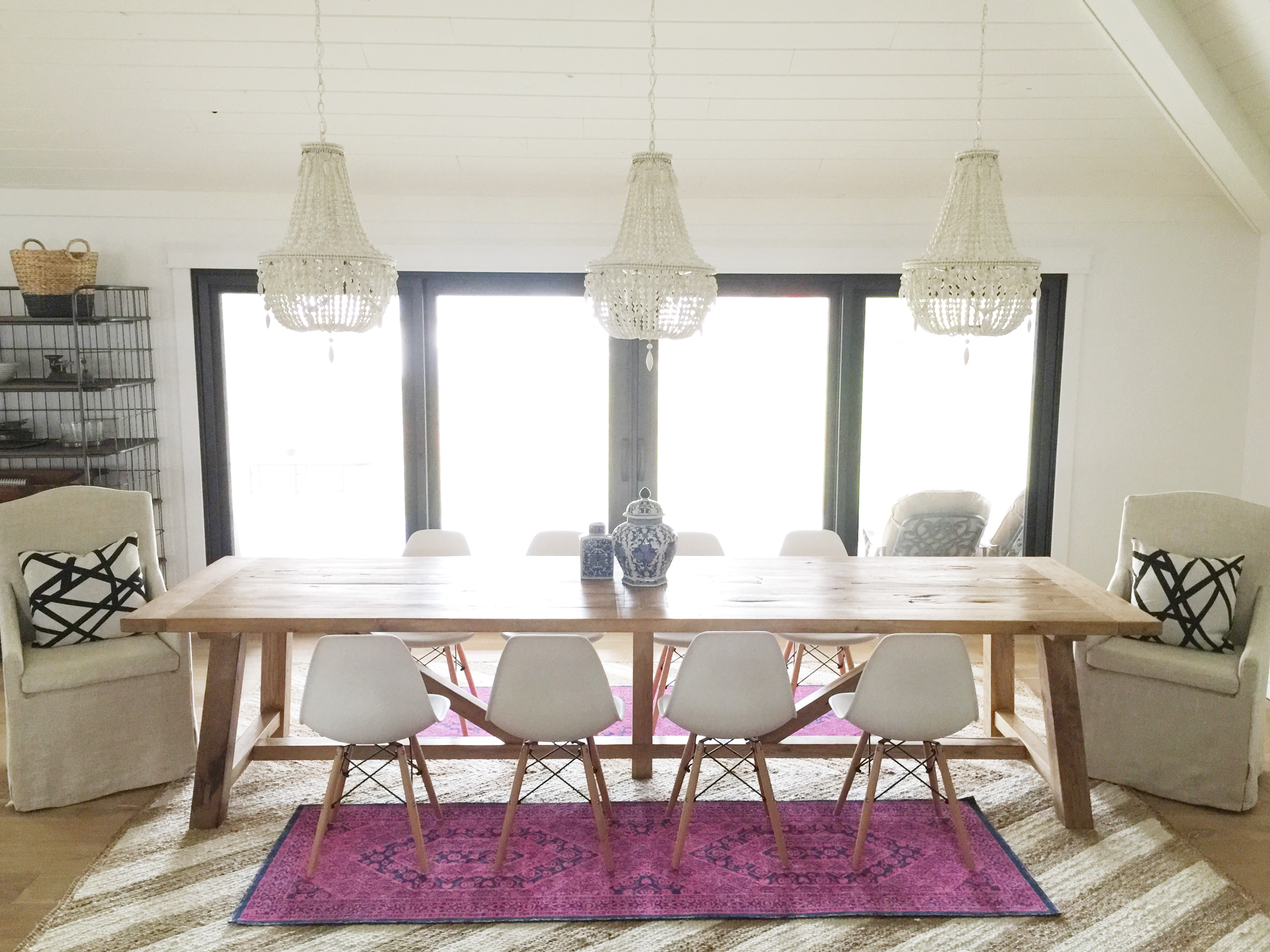 farmhouse_table_henrik_canadian_tire_chair_chandeliers_pella_doors