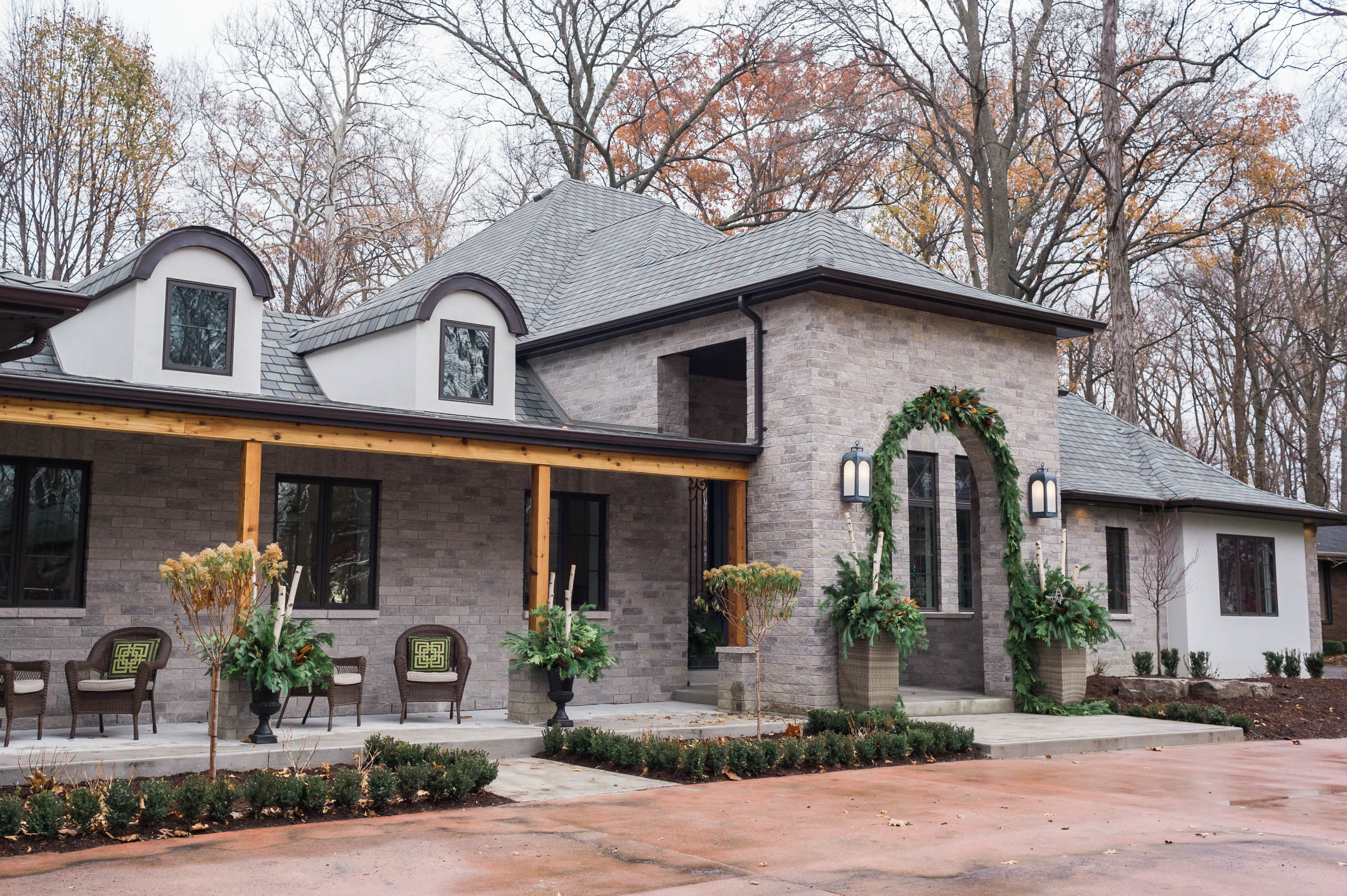 cedar_beams_modern_french_country_exterior