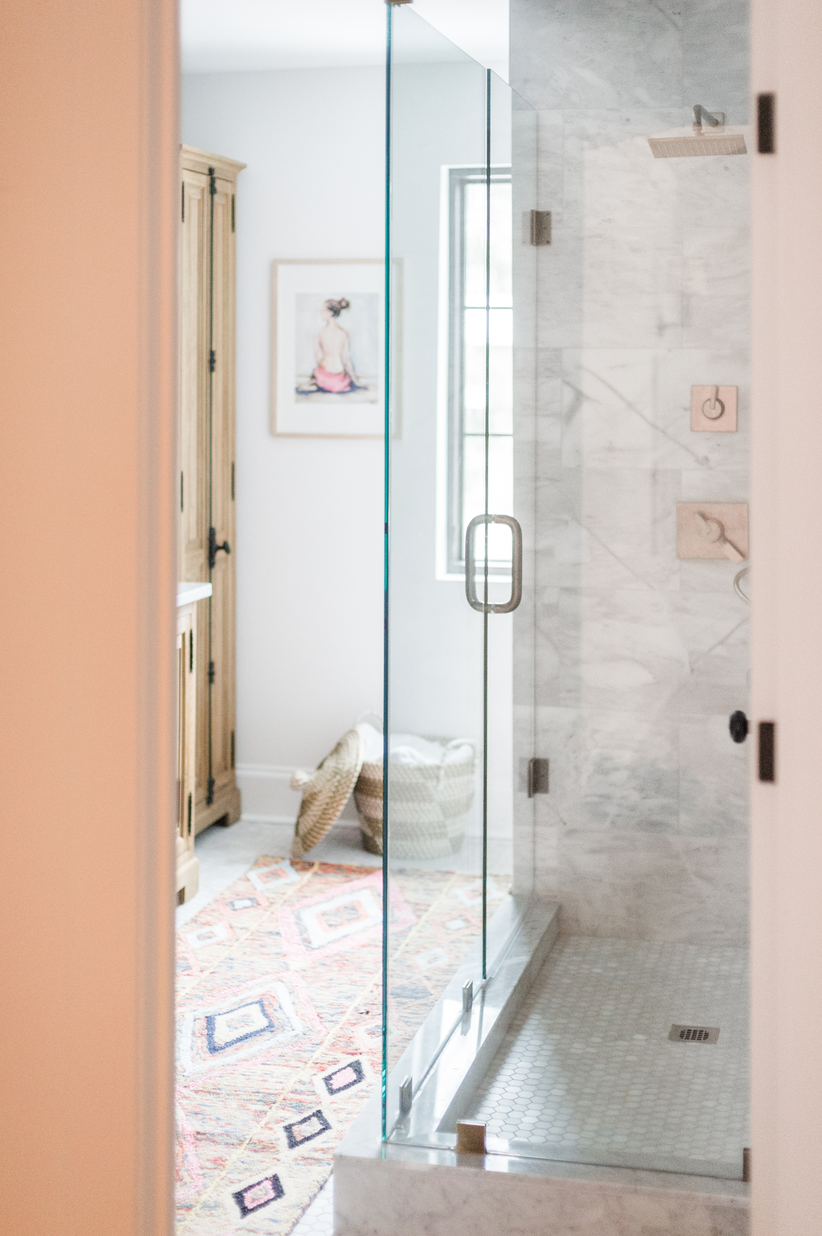 Modern Boho Bathroom Renovation Reveal - The Leslie Style