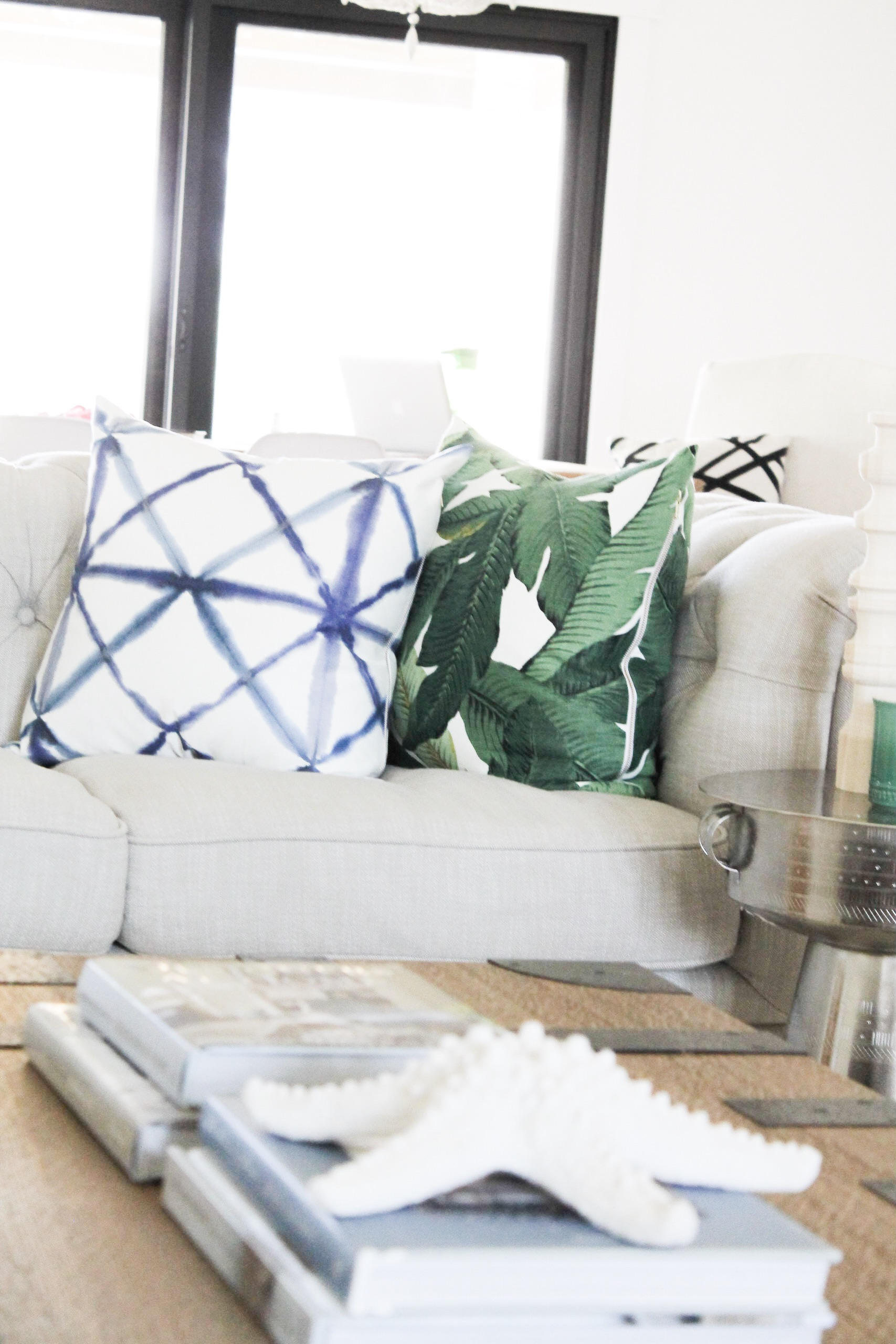 styled for spring home tour modern coastal the leslie style
