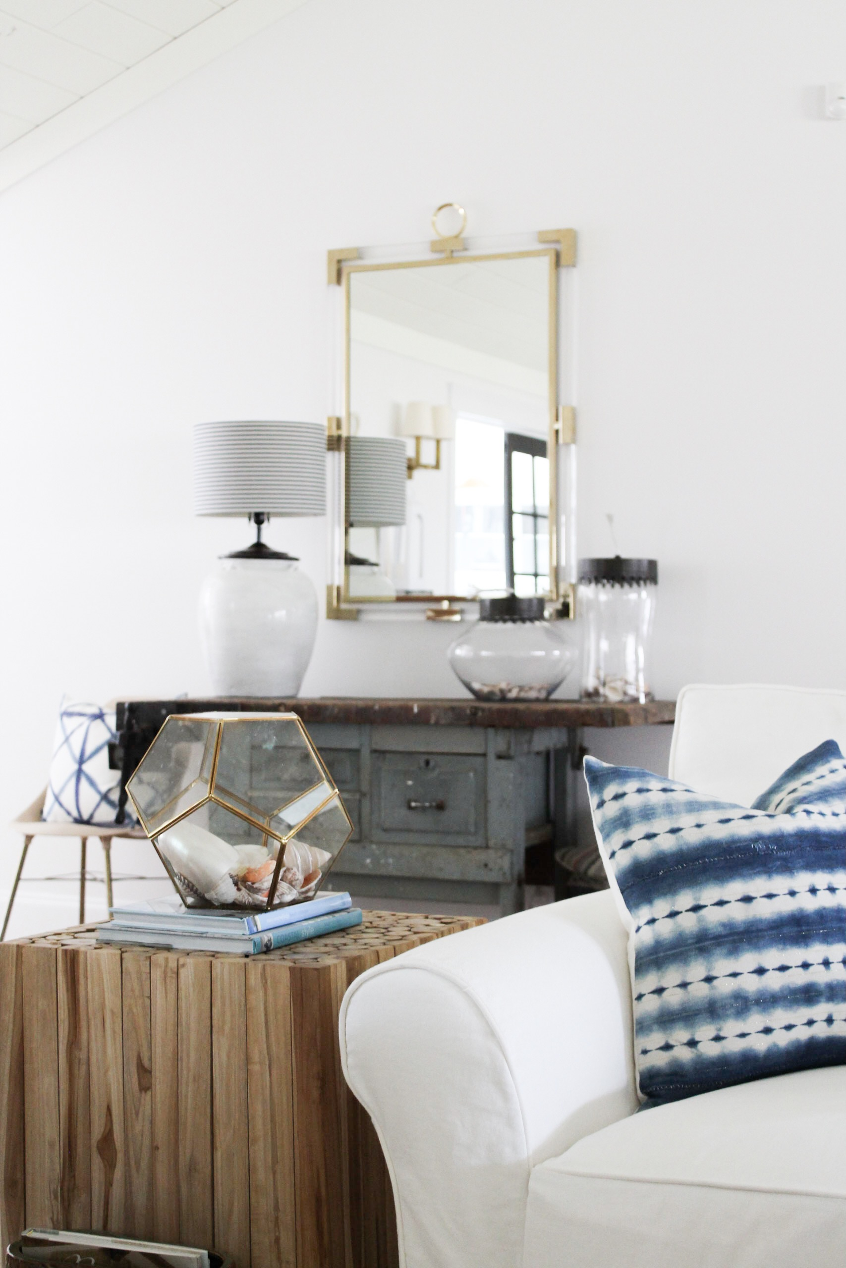 Styled for Spring Home Tour: Modern Coastal