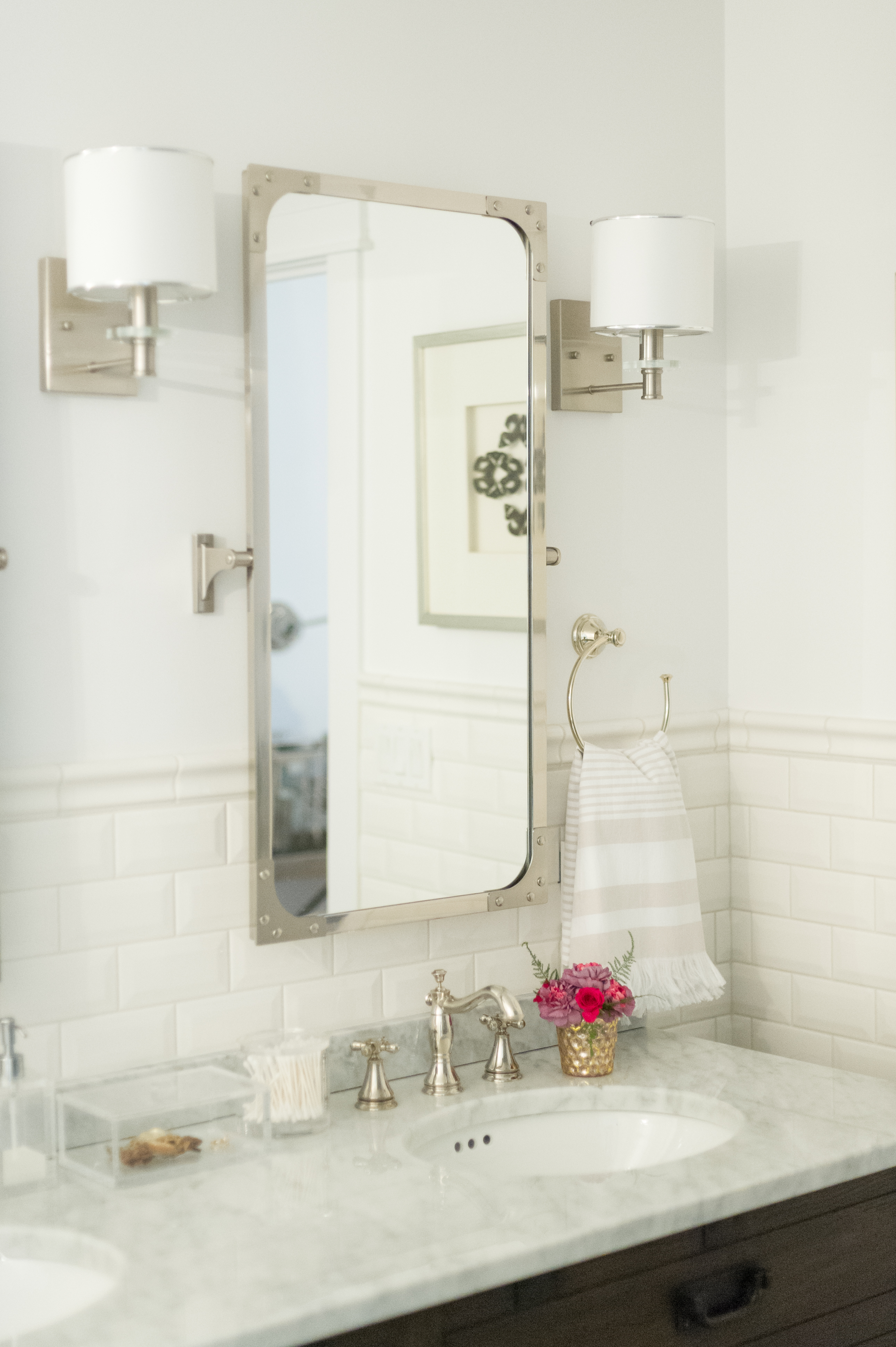 Modern French Country Ensuite Renovation Reveal The