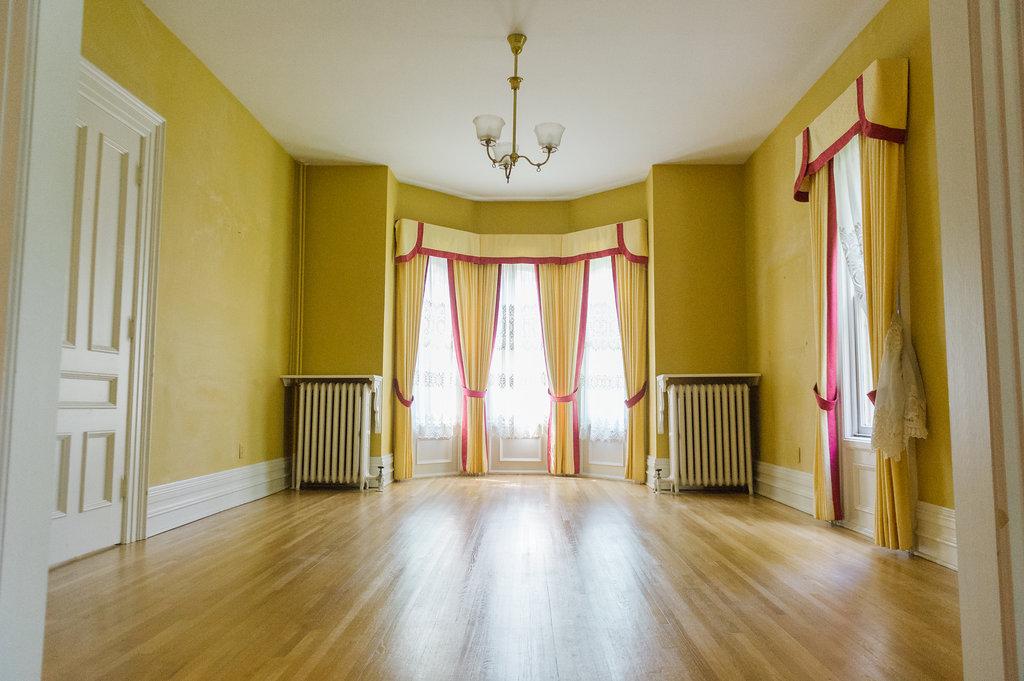 Modern Parisian Living Room Reveal: Wainscoting, Paint ... - photo#8