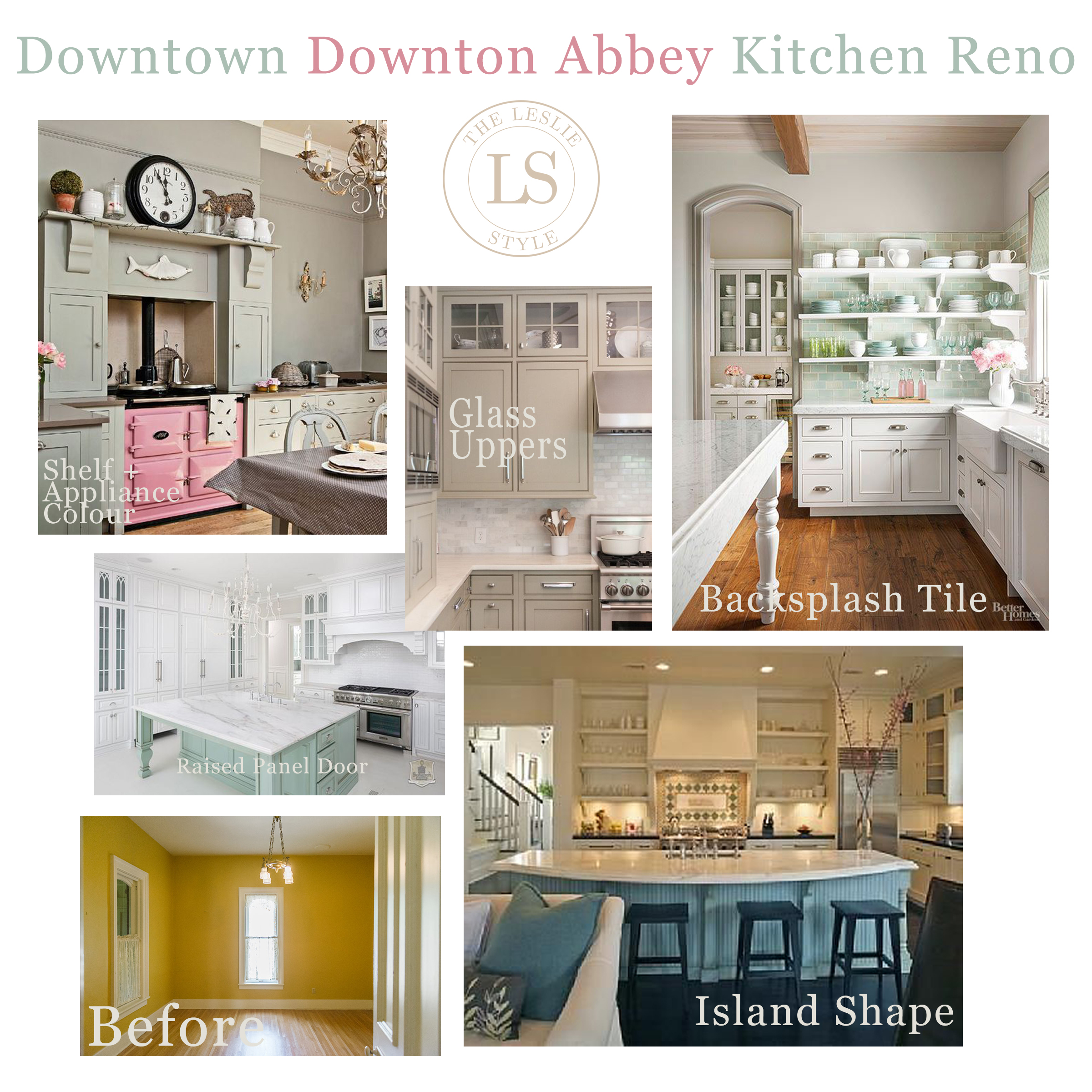 One Room Challenge Week 1: Downtown Downton Abbey Kitchen Reno