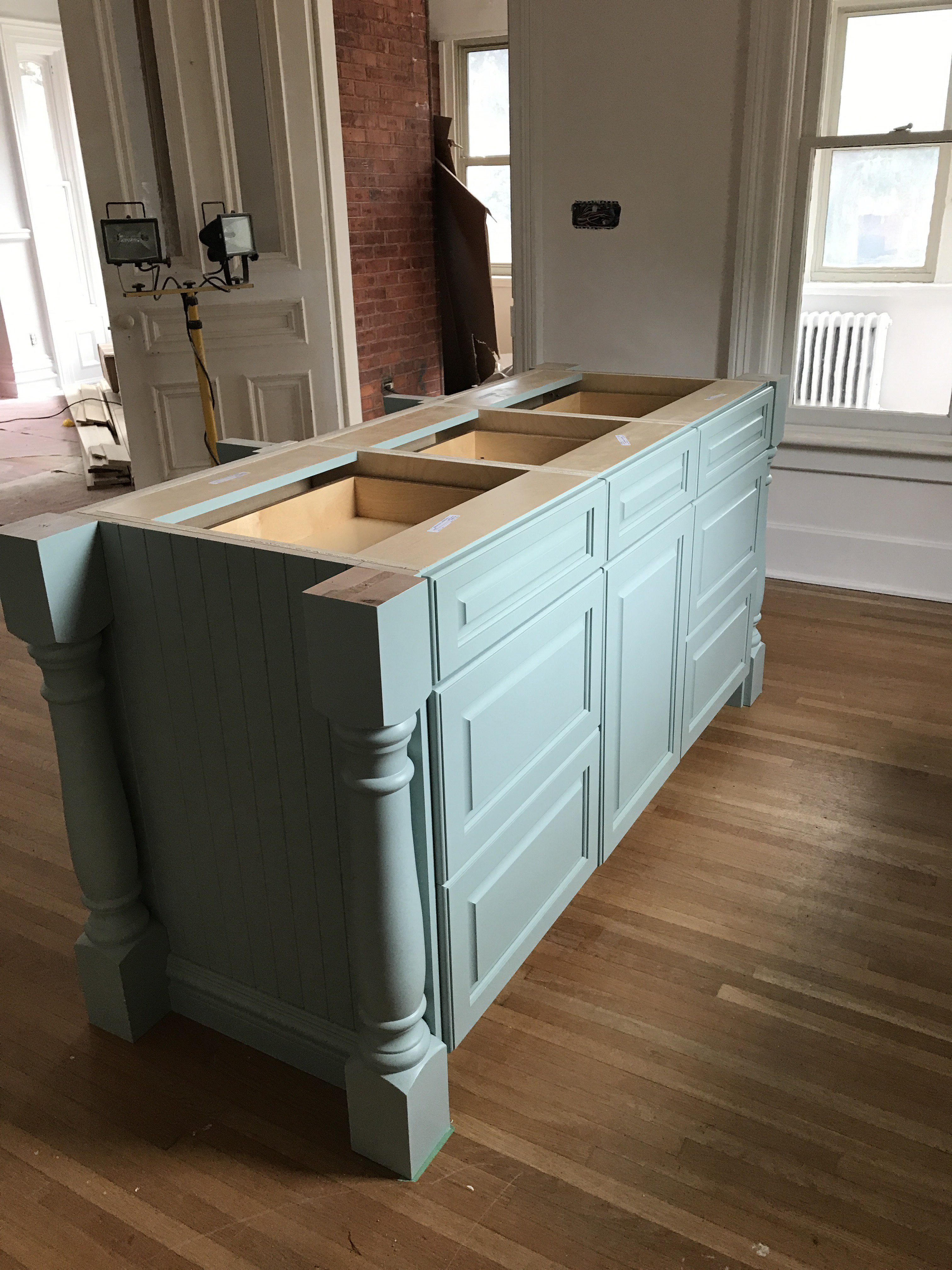 colourful kitchen cabinet install edgecomb gray wythe blue - The ...