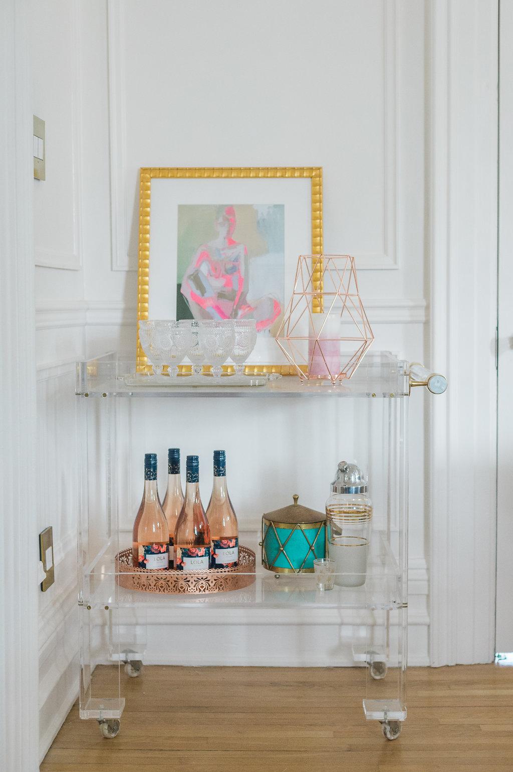 Modern Parisian Living Room Reveal: Wainscoting, Paint ... - photo#19