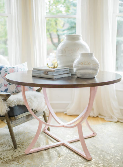 DIY Table Spray Paint Hack