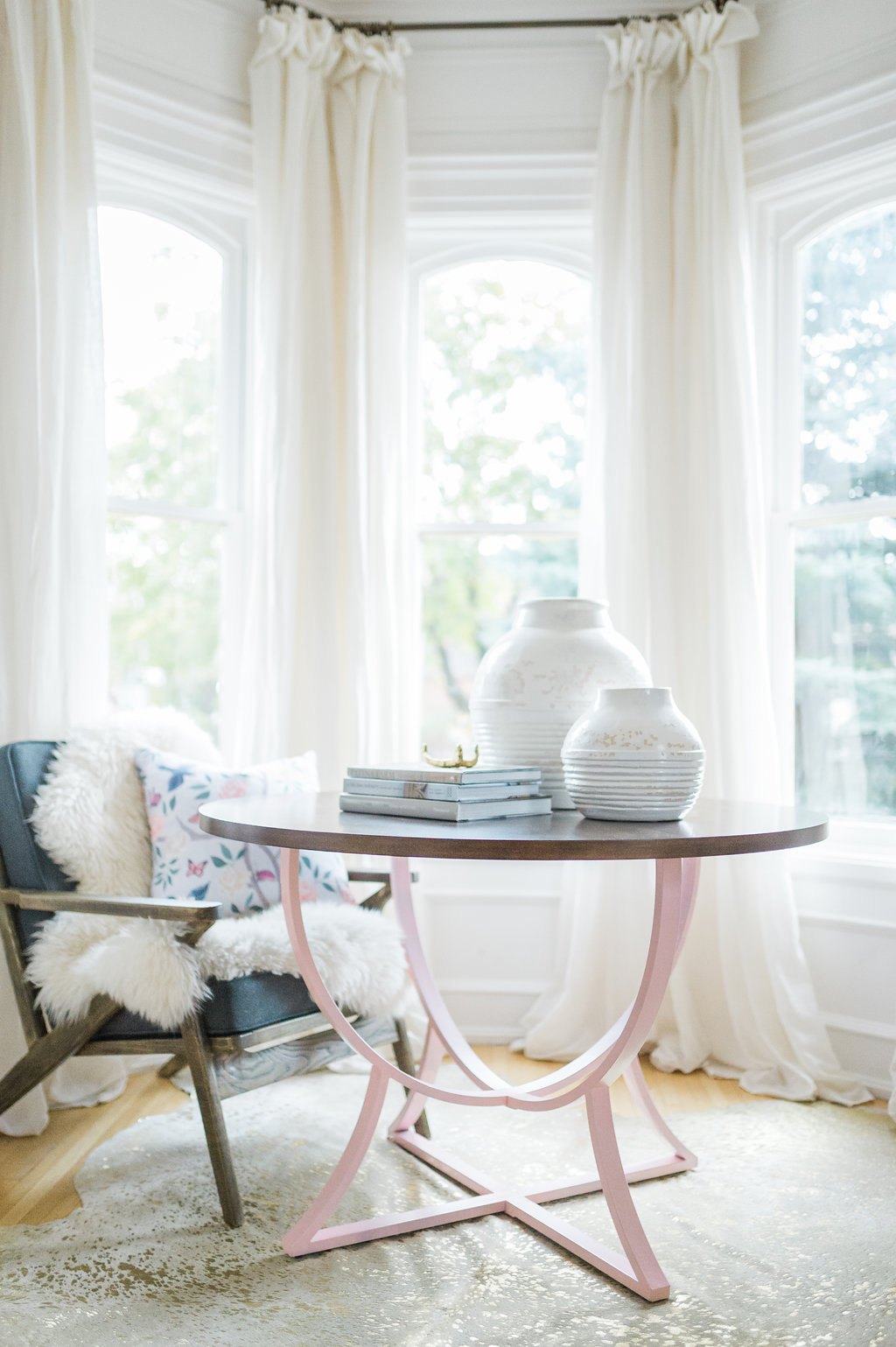 Modern Parisian Living Room Reveal: Wainscoting, Paint ... - photo#13