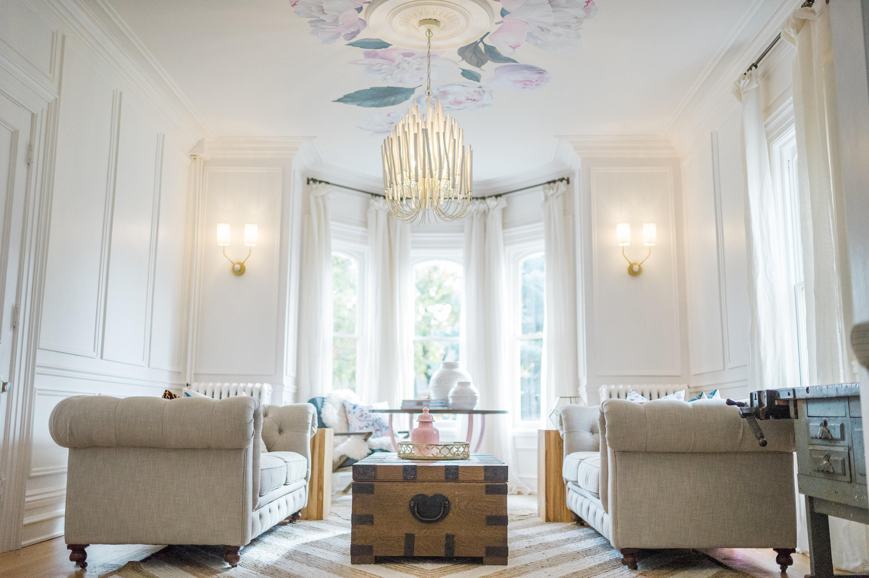 Modern Parisian Living Room Reveal