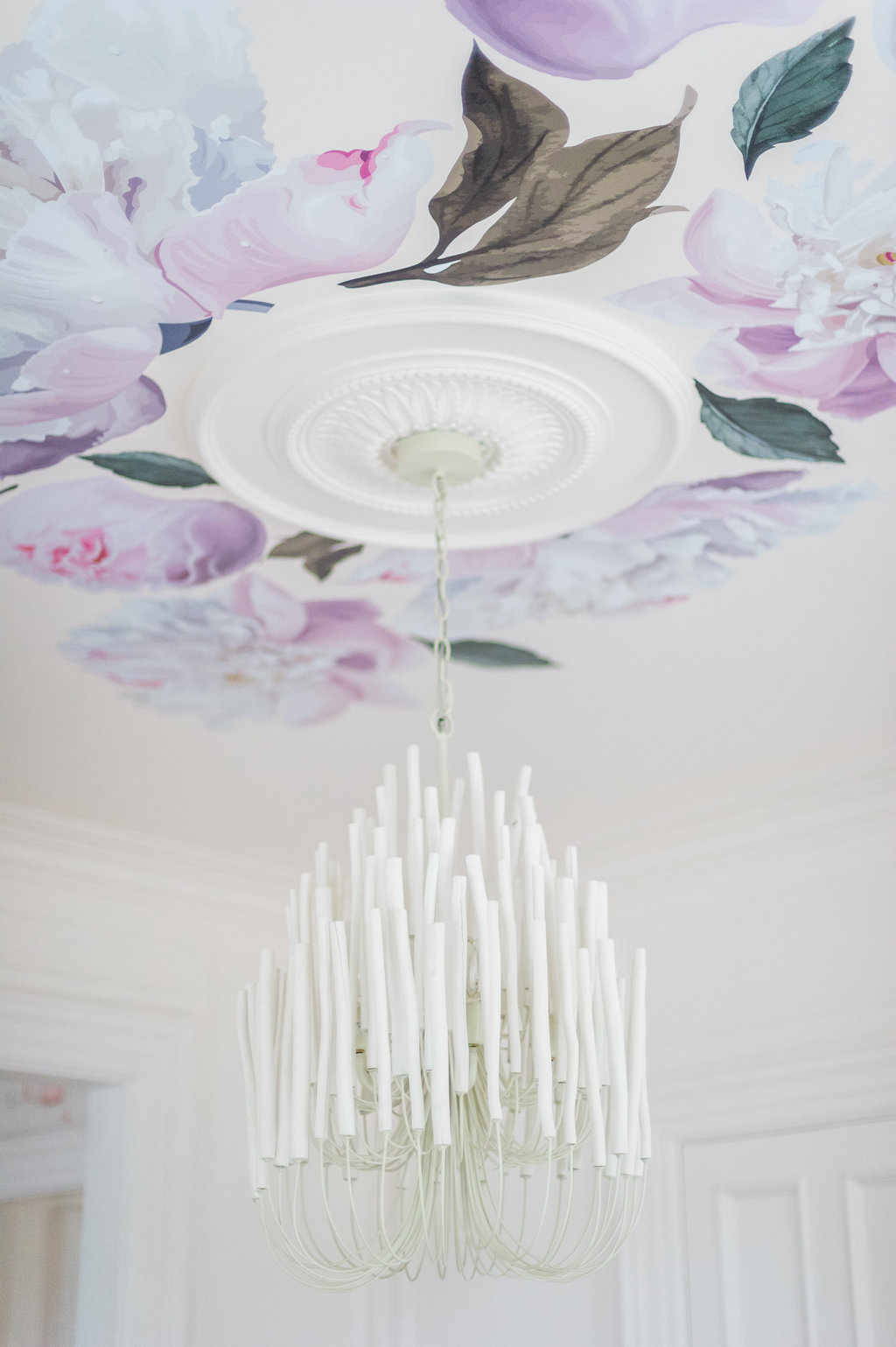 4 diy ceiling ideas to add breathtaking drama to your space the ok lets see my chandelier installed arubaitofo Image collections
