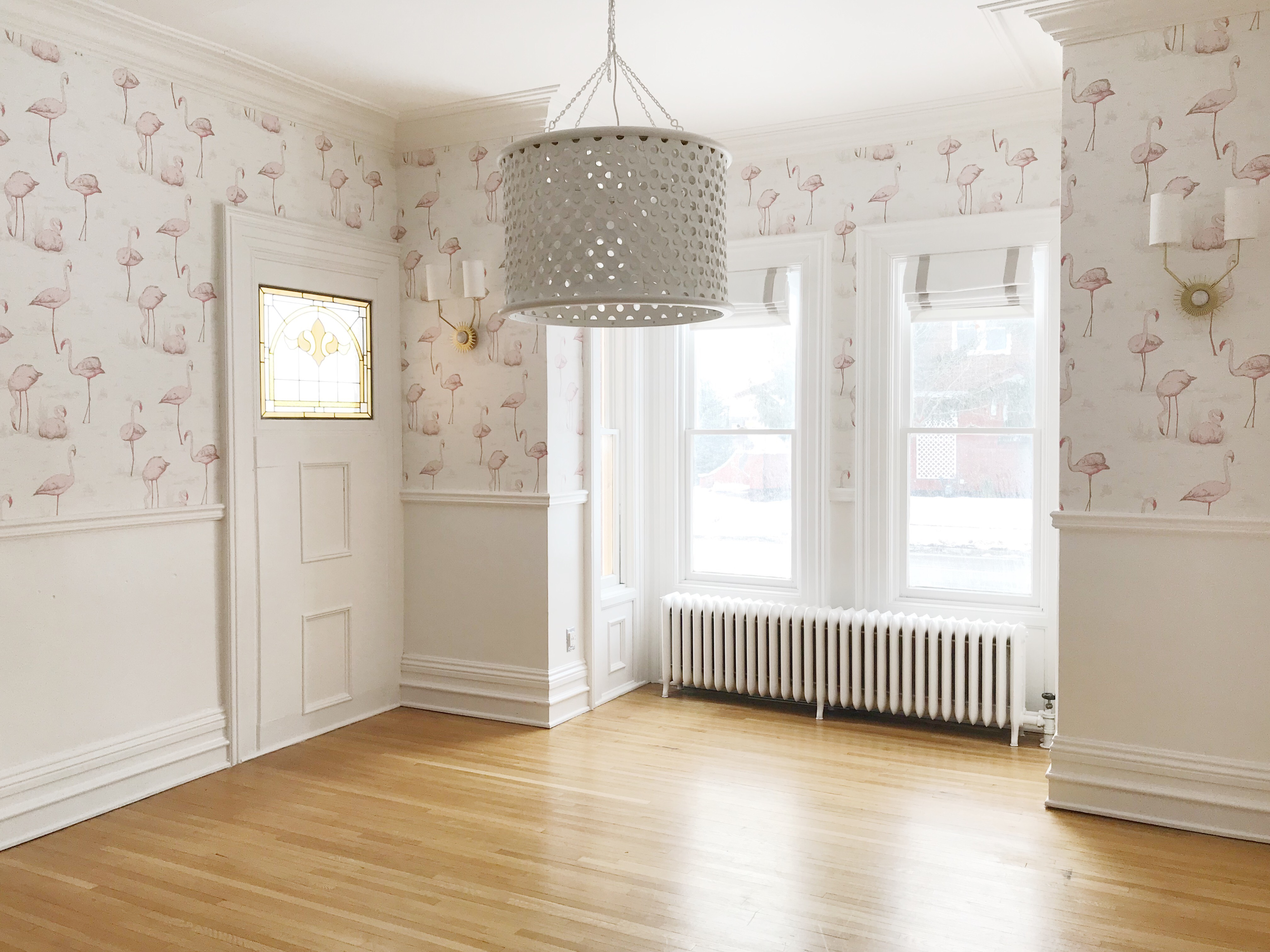 the leslie style cole and son flamingo wallpaper family