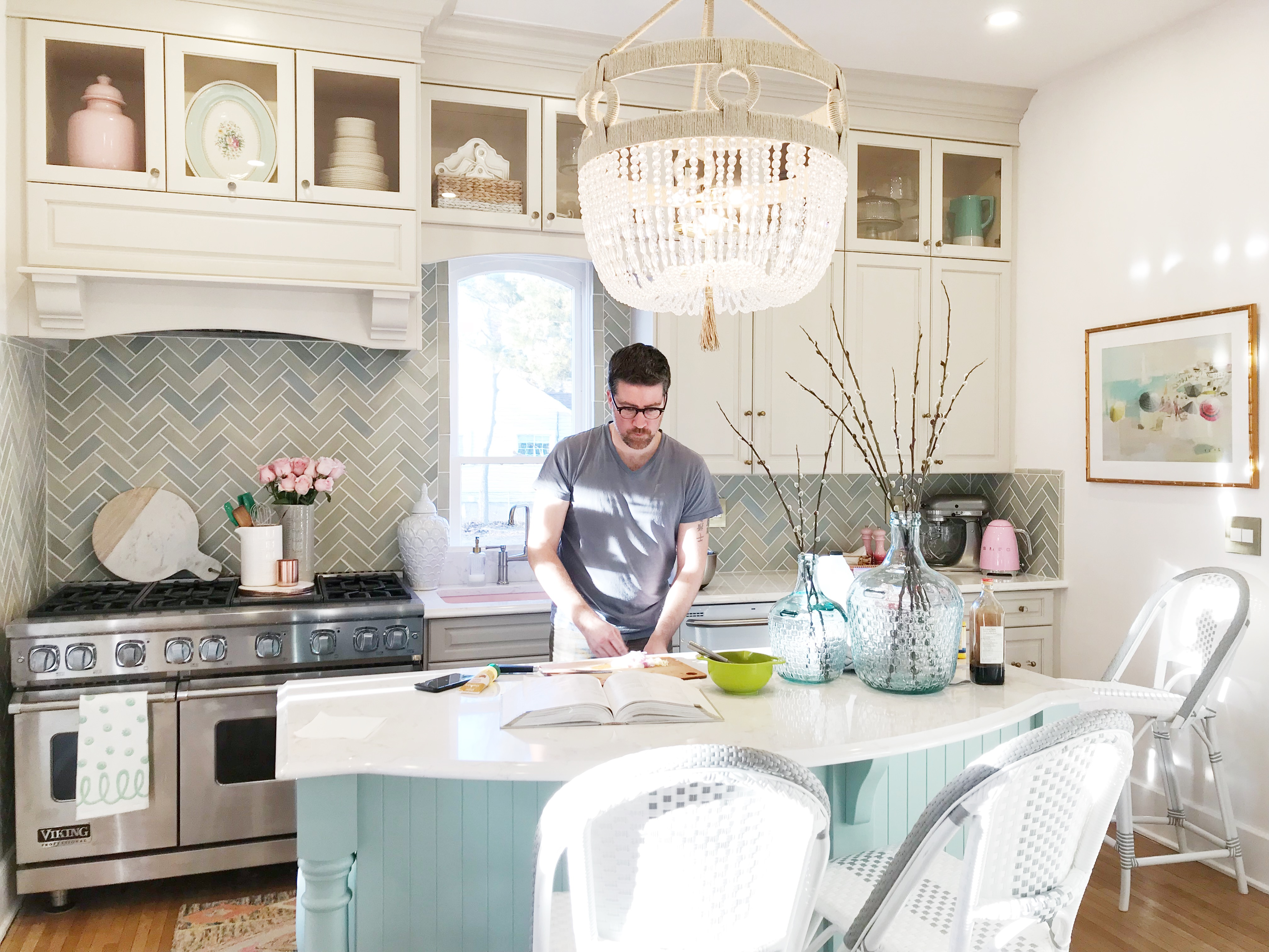 spring kitchen accessories the leslie style green kitchen chandelier - Spring Kitchen