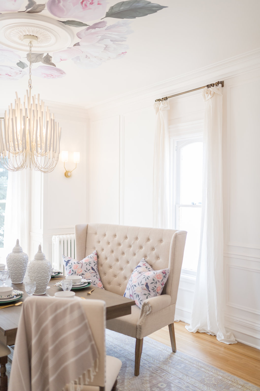 Pleasing Pop Up Dining Room With The Brick The Leslie Style Squirreltailoven Fun Painted Chair Ideas Images Squirreltailovenorg
