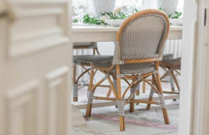 Modern Parisian Living Room Reveal: Wainscoting, Paint ... - photo#34