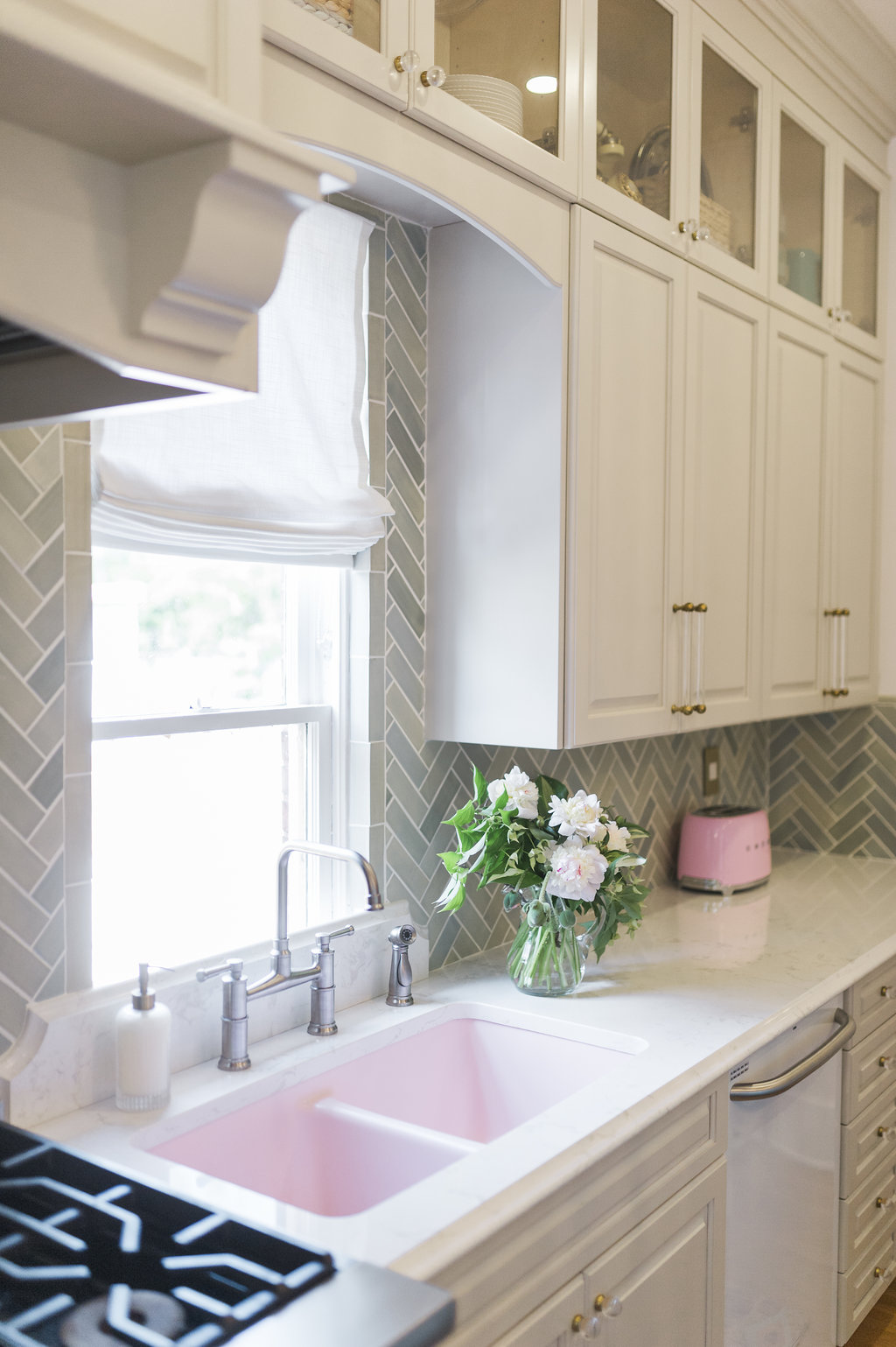 How To Run Kitchen Cabinets Across A Low Window