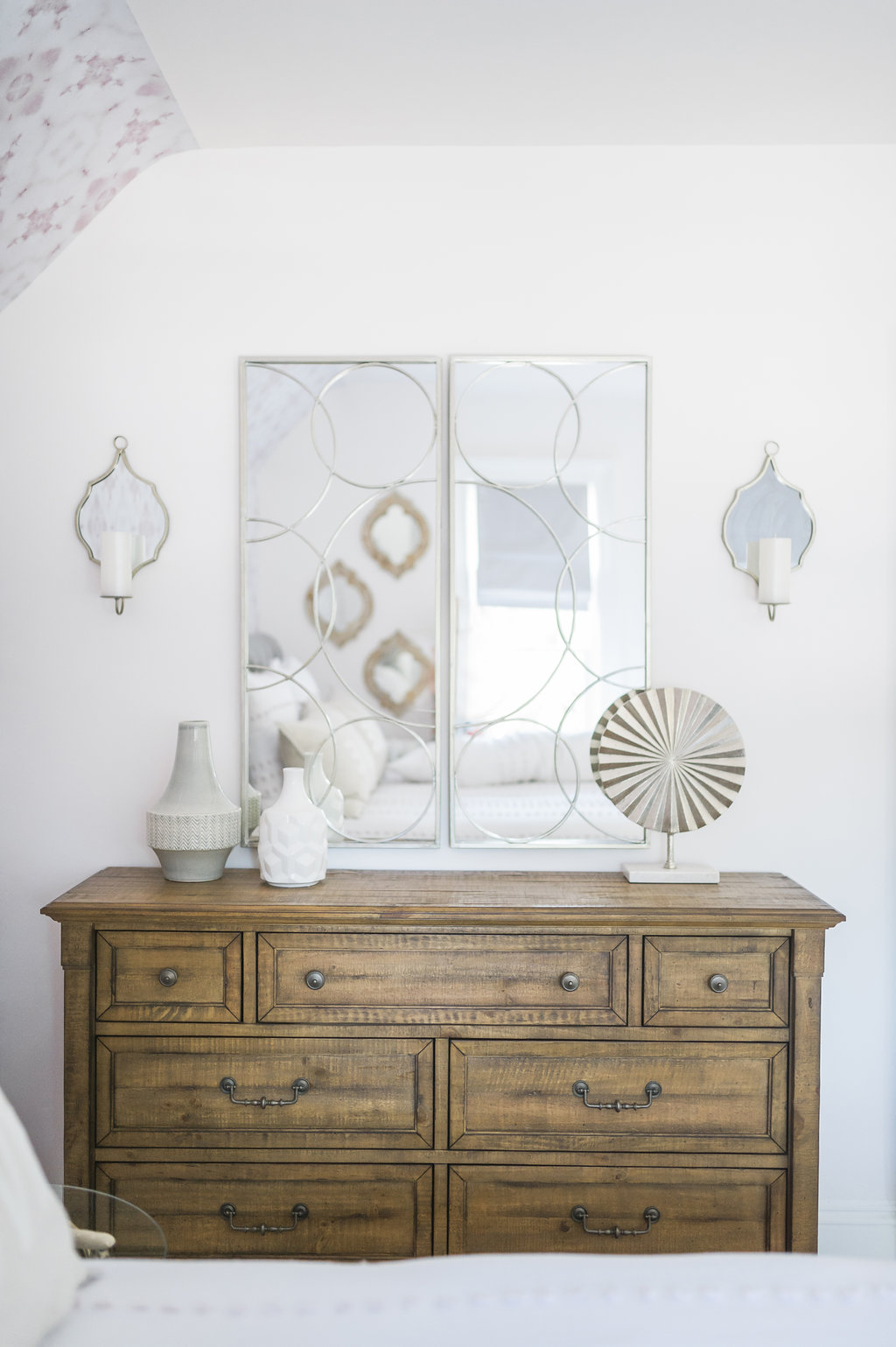 Boho Glam Big Girl Bedroom Reveal The Leslie Style