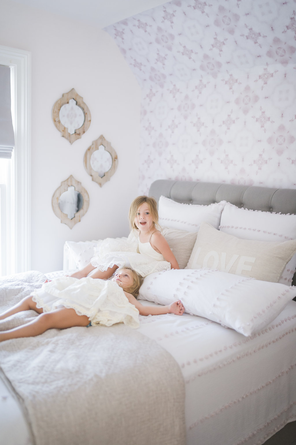 Boho Glam Big Girl Bedroom Reveal - The Leslie Style