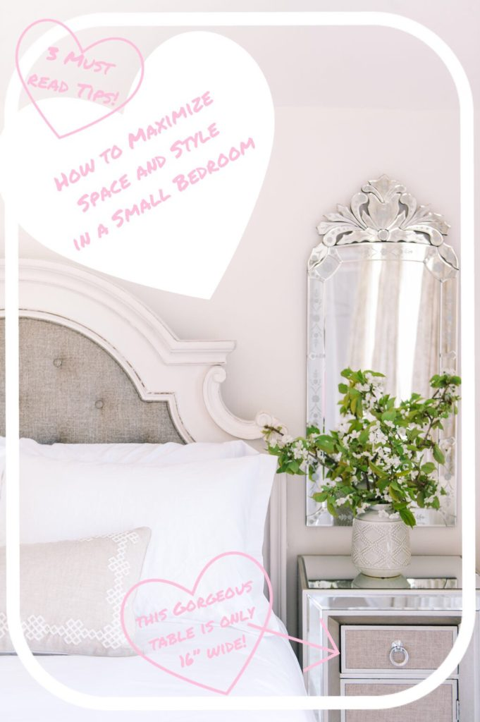 3 tips to maximize space and style in a small bedroom - How to maximize a small bedroom ...