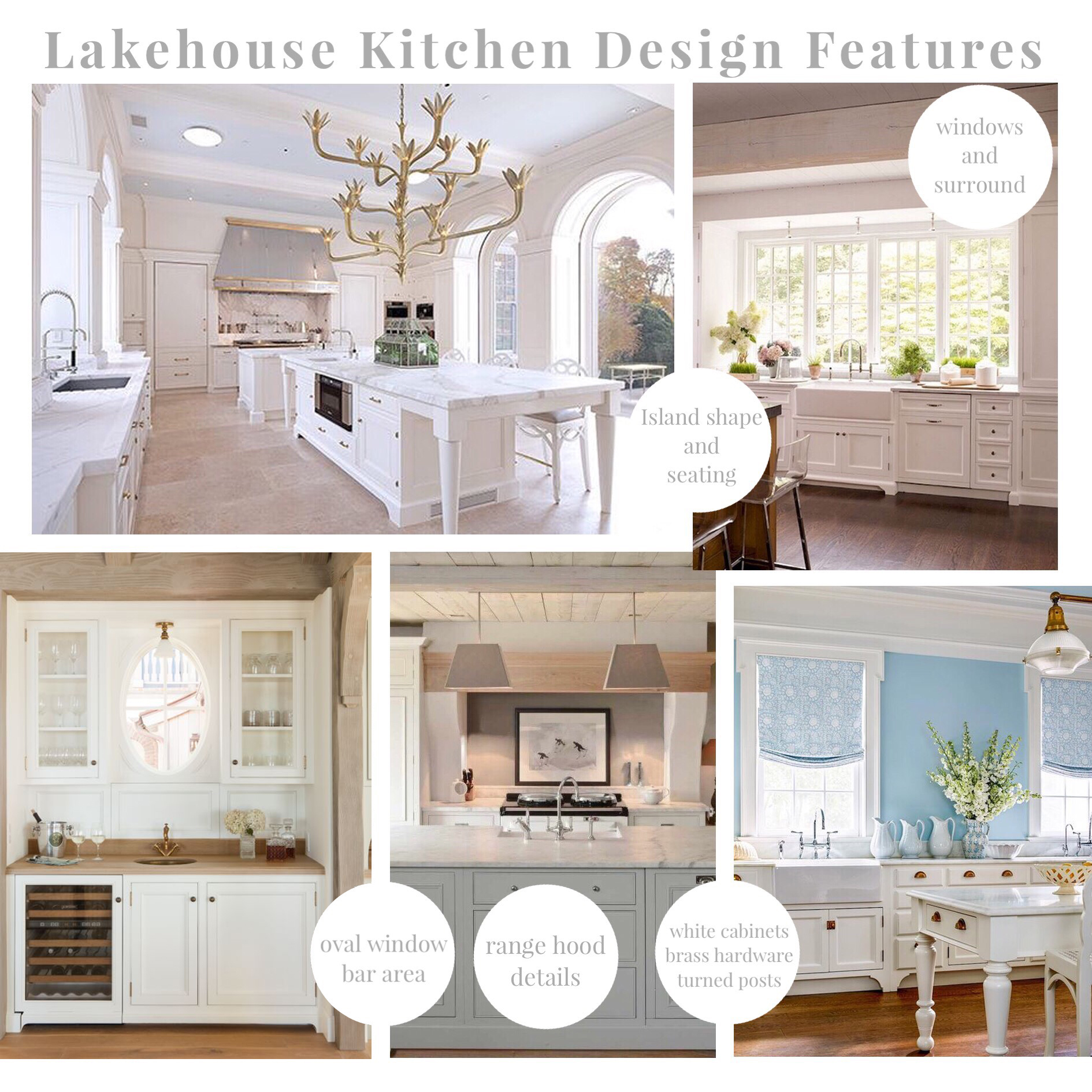 How to Plan and Design Your Kitchen: Lakehouse Kitchen Design