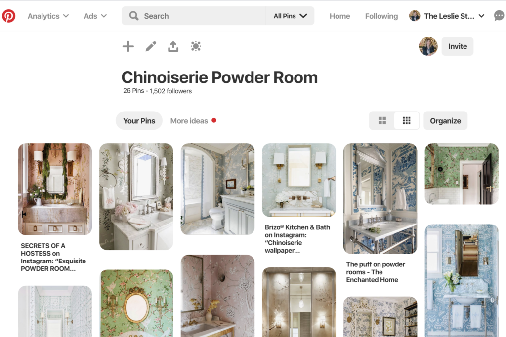 Chinoiserie Powder Room Get The Look The Leslie Style,Rose Beautiful Flower Images Hd